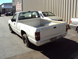 1990 MITSUBISHI TRUCK REGULAR CAB MIGHTY MAX MODEL 2.4L EFI MT 2WD 5 SPEED COLOR WHITE 133638