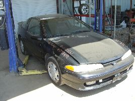 1992 MITSUBISHI ECLIPSE GSX MODEL 2 DOOR CPE 2.0L DOHC TURBO AT AWD COLOR BLACK