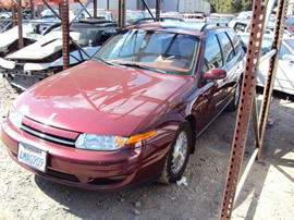 2000 SATURN LW2 COLOR MAROON, STK # 109786