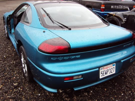 MITSUBISHI STEALTH COLOR TEAL GREEN STK # 103536
