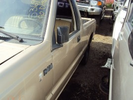 1990 DODGE D-50, 2.4L 5SPEED 2WD, COLOR GOLD, STK 153696