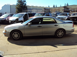 2001 MITSUBISHI DIAMANTE 4 DOOR SEDAN LS MODEL 3.5L V6 AT FWD COLOR SILVER STK 133616