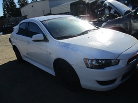 2013 MITSUBISHI LANCER ES WHITE 2.0L AT 173817