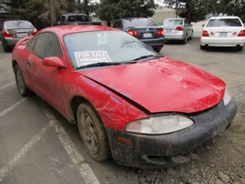 1995 MITSUBISHI ECLIPSE GS-T RED 2.0L TURBO AT 163748