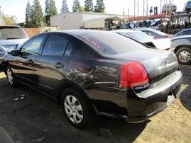 2006 MITSUBISHI GALANT SE BLACK 2.4L AT 163800