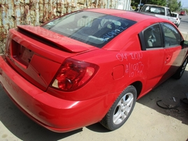 2004 SATURN ION 2 RED 2.2L MT 169922