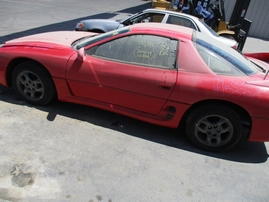 1999 MITSUBISHI 3000GT RED 3.0L AT 2WD 153720