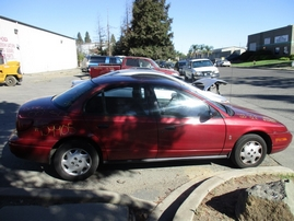 2000 SATURN SL1 RED 1.9L AT 4DR 159905