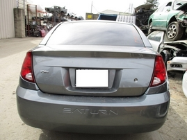 2005 SATURN ON METALLIC GRAY 4DR 2.2L AT 159909