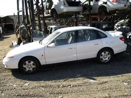 2001 SATURN L300 WHITE 3.0L AT 169931