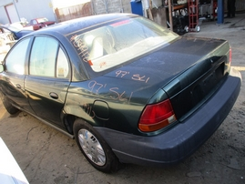1997 SATURN SL1 GREEN 4DR 1.9L MT 159912