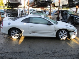 2001 MITSUBISHI ECLIPSE GT WHITE AT 3.0L 153738