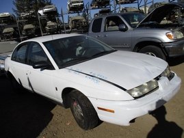 1996 SATURN SL2 WHITE 4DR 1.9L AT 169932