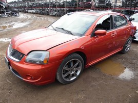 2007 MITSUBISHI GALANT RALLIART 4DOOR ORANGE 3.8 AT 203948