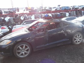 2007 MITSUBISHI ECLIPSE GT BLACK 3.8L AT 183881