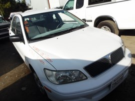 2003 MITSUBISHI LANCER ES WHITE 2.0L AT 173843