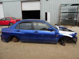 2005 MITSUBISHI LANCER EVOLUTION VIII BLUE 2.0L TURBO MT 4WD 173824