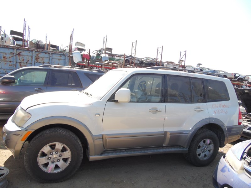 2004 MITSUBISHI MONTERO LIMITED WHITE 3.8L AT 4WD 183867