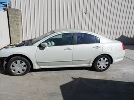 2004 MITSUBISHI GALANT ES WHITE 2.4L AT 173833