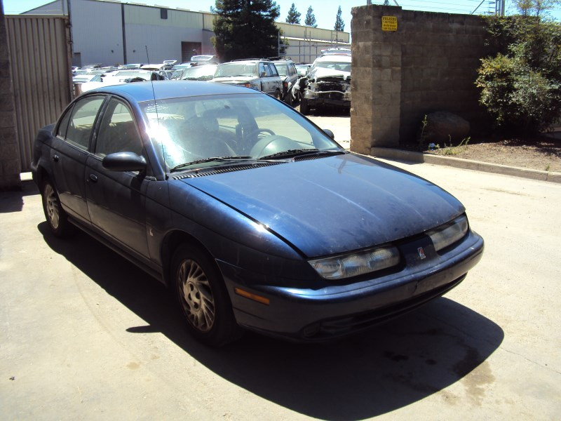 Find used 1999 Saturn 4 Door SL1 Burgundy Red Need Front Strut ...
