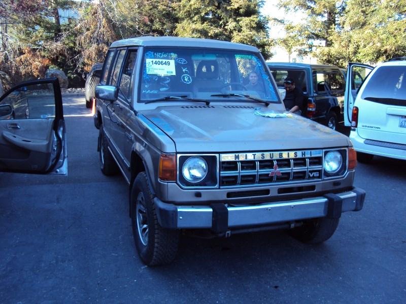 Montero 1989 1989 Mitsubishi Montero 4