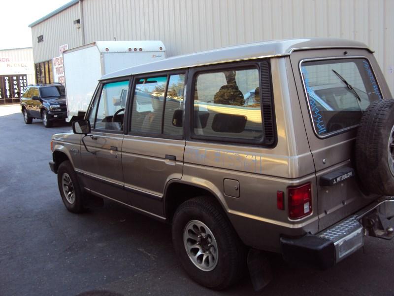 Montero 1989 1989 Mitsubishi Montero 4 Door