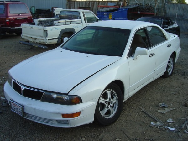 1998 MITSUBISHI DIAMANTE AUTOMATIC TRANSMISSION COLOR: WHITE STK: 093462