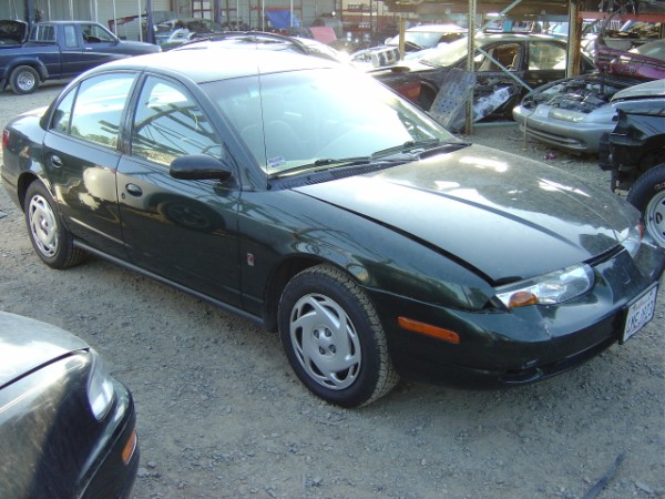 2000 SATURN SL2, GREEN STK#099751 ONLY AT M&S RECYCLING RANCHO CORDOVA CA