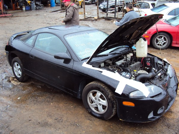 1997 MITSUBISHI ECLIPSE RS 4CYL, 5 SPEED TRANSMISSION, COLOR