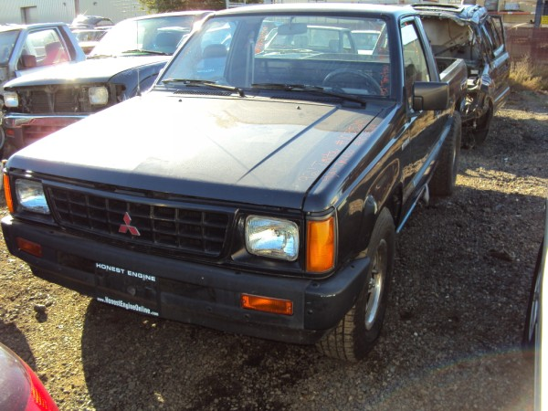 1992 MITSUBISHI TRUCK 4CYL, MANUAL 5 SD TRANSMISSION, STK ...