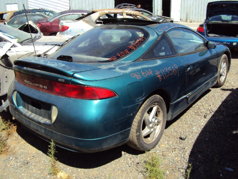 1996 mitsubishi eclipse coupe color green stk 113569 mitsubishi parts recycling m s recycling