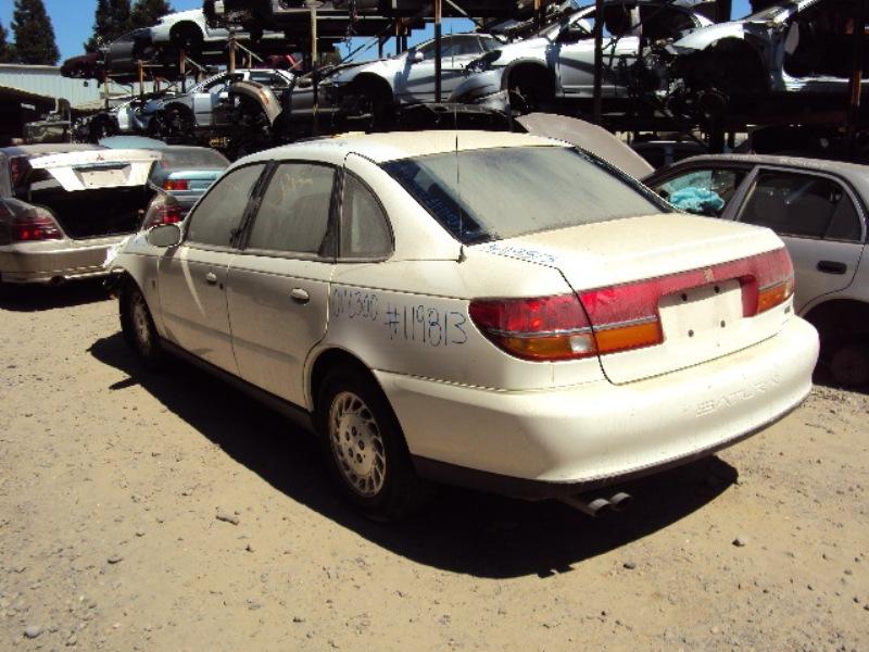 2001 Saturn L300 Model 3 0l At Color White Stk 119813