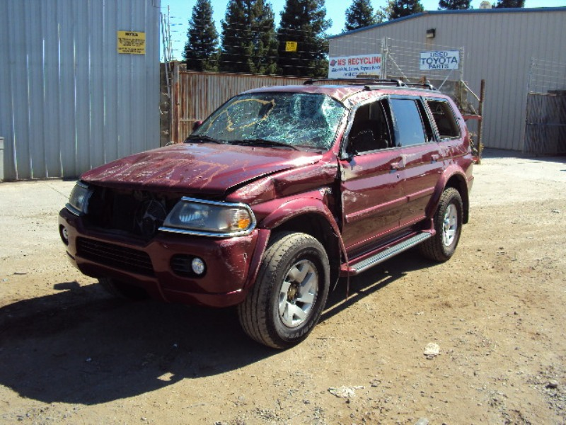 2000 MITSUBISHI MONTERO SPORT LIMITED 3.5L AT 2WD COLOR BURGUNDY STK #  113576 ...
