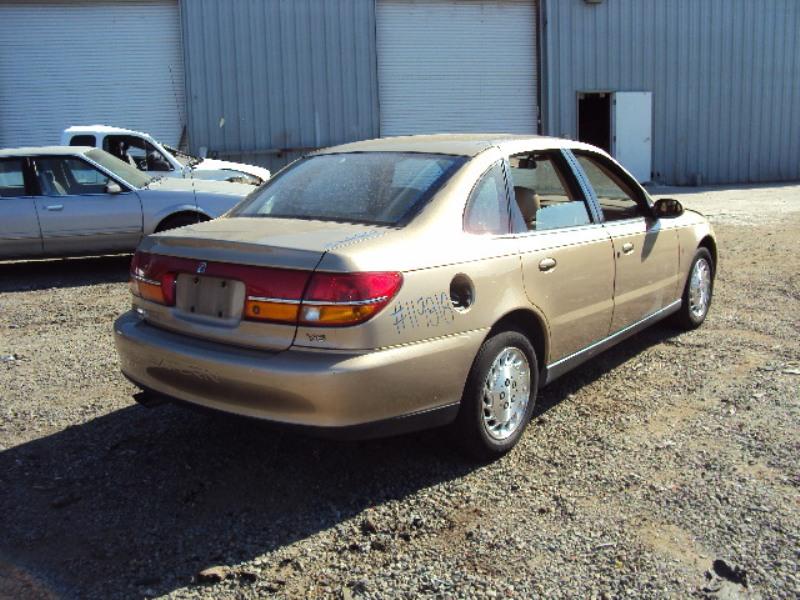 2001 Saturn L300 4 Door Sedan 3 0l At Color Gold Stk 119818
