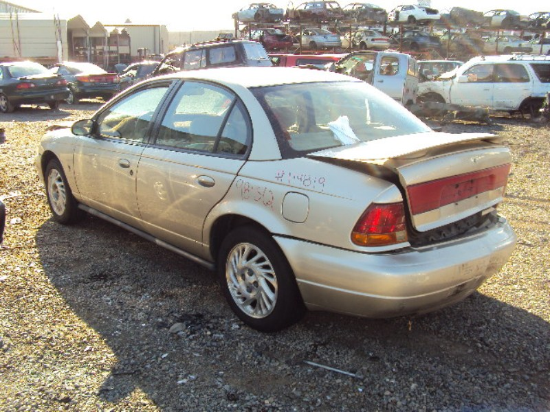 1998 Saturn Sl2 Model 4door Sedan 1 9l Dohc Mt Color Gold Stk