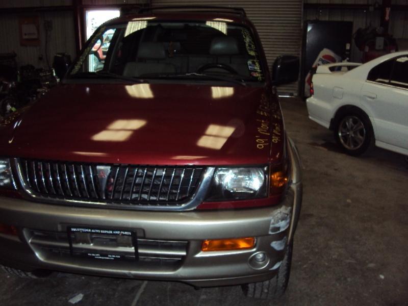 ... 1999 MITSUBISHI MONTERO SPORT LIMITED 3.5L AT 2WD COLOR MAROON STK  123591