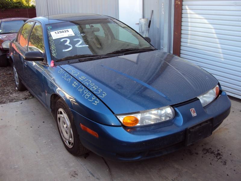2001 Saturn Sl2 Model 4 Door Sedan Dohc Mt Color Blue Stk 129833