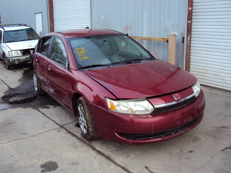2004 Saturn Ion 4 Door Sedan 2 Model 2l At Fwd Color Red Stk