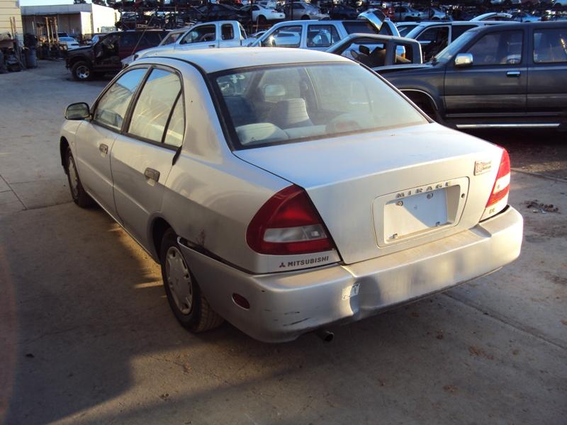 1998 mitsubishi mirage 4 door sedan de model 15l at fwd color silver stk 133617