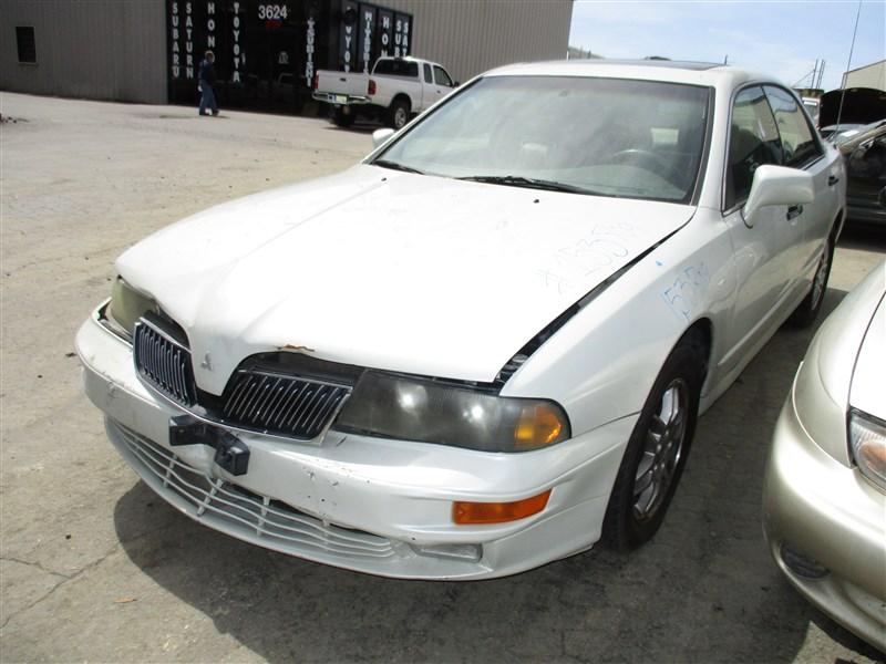 2002 MITSUBISHI DIAMANTE LS, 3.5L AUTO, COLOR WHITE, STK 153709 ...