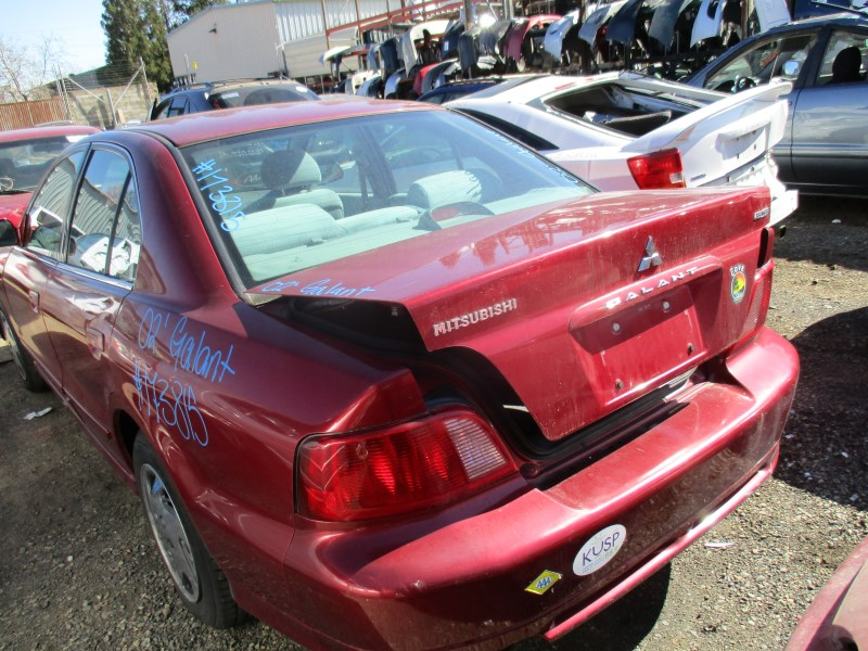 2002 mitsubishi galant es burgundy 2 4l at 173815 mitsubishi parts recycling m s recycling