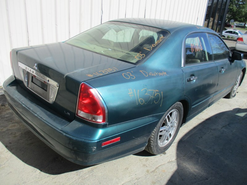2003 mitsubishi diamante ls green 3.5l at 163751- mitsubishi parts