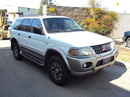 2000 MITSUBISHI MONTERO SPORT XLS MODEL 3.0L V6 AT 2WD COLOR WHITE STK 133625