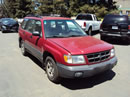 1998 SUBARU FORESTER STATION WAGON L MODEL 2.5L AT AWD COLOR RED U14032