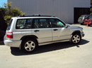 2001 SUBARU FORESTER STATION WAGON S MODEL 2.5L AT AWD COLOR SILVER STK U13026