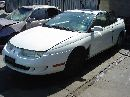 1997 SATURN SC2 MODEL 2 DOOR COUPE 1.9L DOHC MT FWD COLOR WHITE