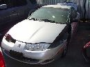 2001 saturn sc2 model 3door coupe 1.9l dohc at color silver #089708