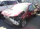 2004 saturn ion level 3 4 door sedan 2.2l mt fwd color red