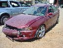 2001 MITSUBISHI GALANT ES MODEL 4 DOOR SEDAN 2.4L AT FWD COLOR BURGANDY