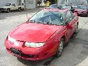 1997 SATURN  SC2 MODEL 2 DOOR COUPE 1.9L DOHC MT FWD COLOR RED